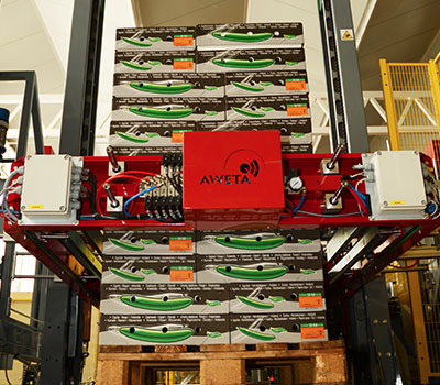 Aweta Fruit & Vegetable Palletizing Systems
