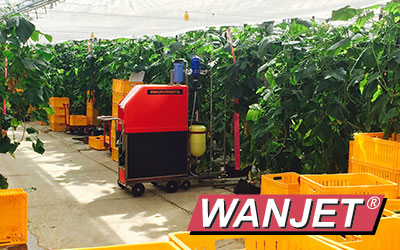 Wanjet Greenhouse Spray Robotics, Niagara